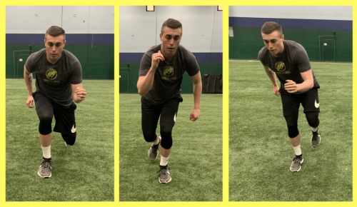 Lunge To Lateral